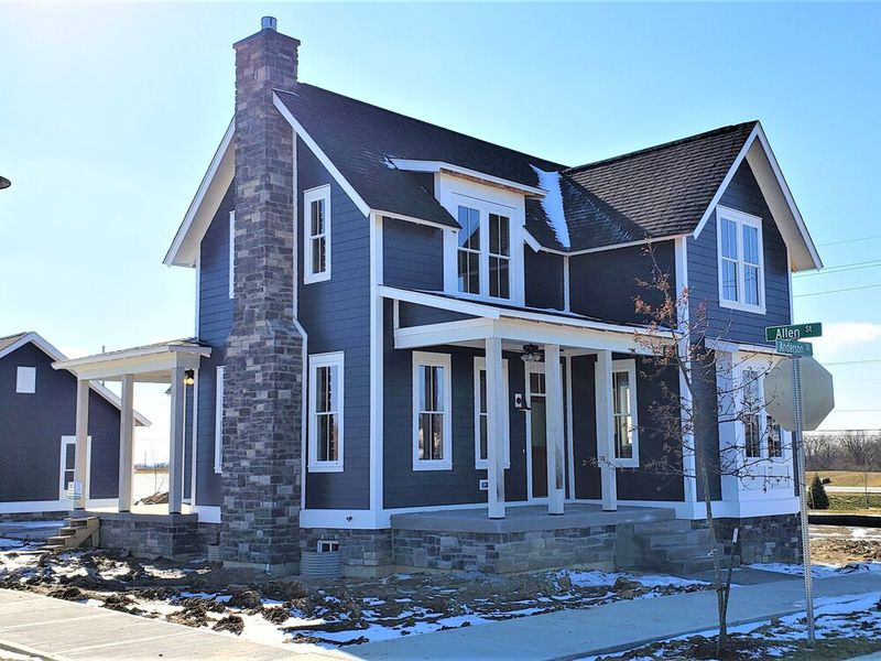This is one of nearly a dozen completed new single-family houses in Union Village. The Warren County development is in the first phase of a 40-year master plan. CONTRIBUTED