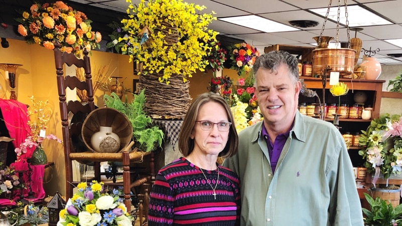 Roger W. Conner, longtime owner of Flowers by Roger, has purchased Flowers by Nancy, owned and operated by Susan Oakley Smith for about 30 years. She has joined the team at Flowers by Roger. SUBMITTED PHOTO
