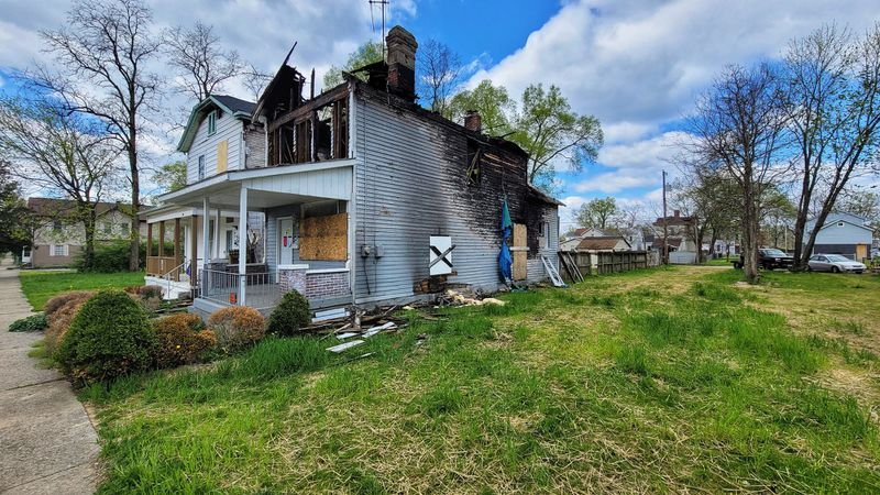One block alone of Greenwood Avenue has been the site of several fires in recent years, and the dangers of fires in empty buildings prompted Hamilton City Council to require registration of houses that have been empty more than 120 days. NICK GRAHAM/STAFF